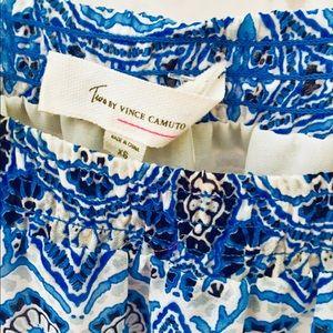 ✨Vince Camuto✨ Candy 🍎 Apple/Cobalt Maxi 👗 Dress